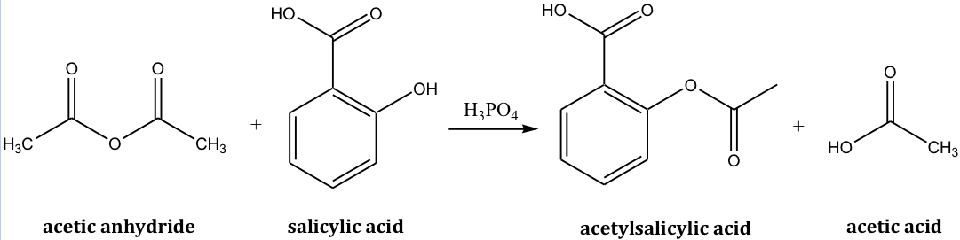 phosphoric acid catalyst aspirin